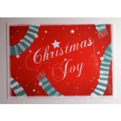 3db Christmas Joy - Adaland üdvözlőkártya