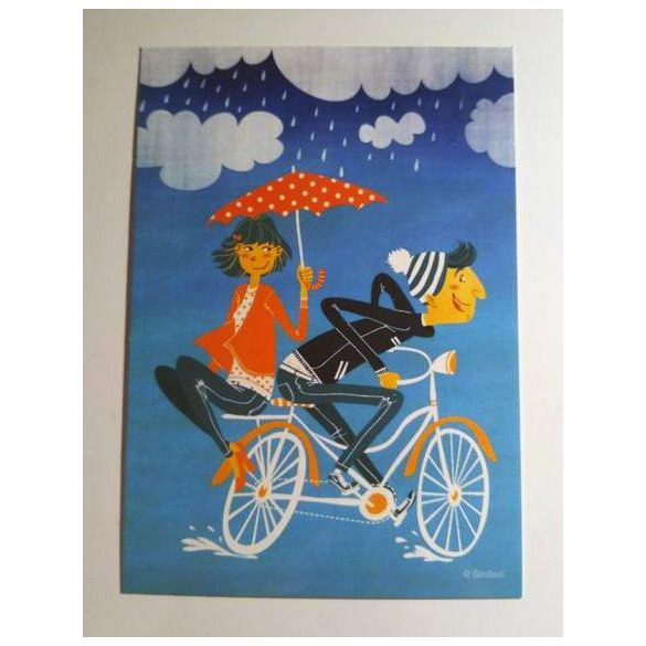 3pcs The LoveBike - Adaland designcard