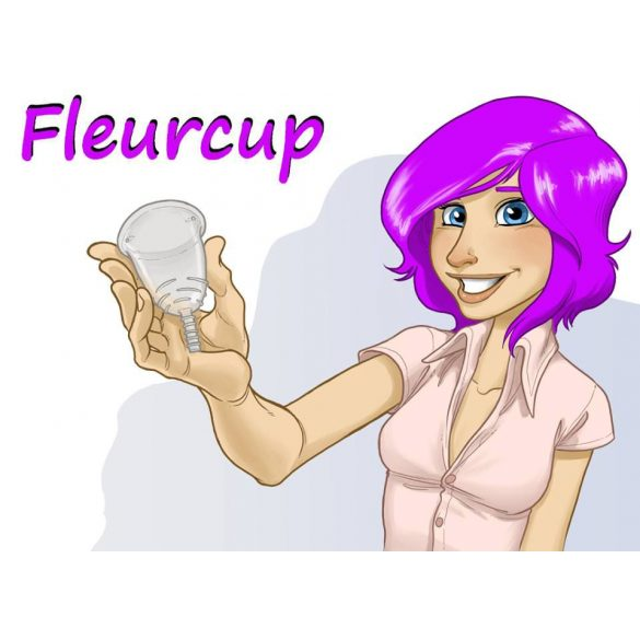 Fleurcup - small size - with an Emilla cupbag