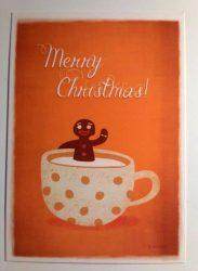 3db GingerMan - Adaland üdvözlőkártya