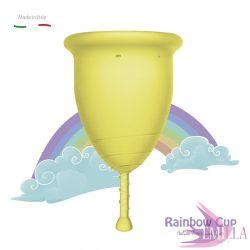 Rainbow Intimkehely nagy méret - Sárga