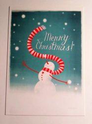 Snowman - Adaland designcard