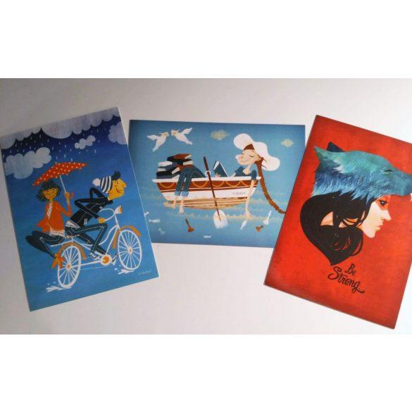 3pcs Friendship-set - Adaland designcard