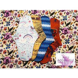 Charity pad for moderate flow (1pcs) Pénelopé size, surprise print