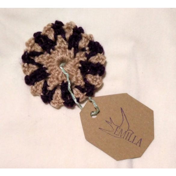 Star Flake - Hand crocheted cup coaster