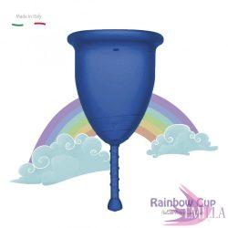 Rainbow Intimkehely kisméret - Kék (középkemény)