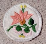 Unique hand-stitched cup coasters