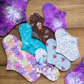 EMILLA CLOTH PADS - Click for the sizes!