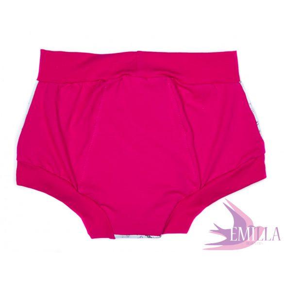 Csillámos Unikornis menstruációs bugyi S