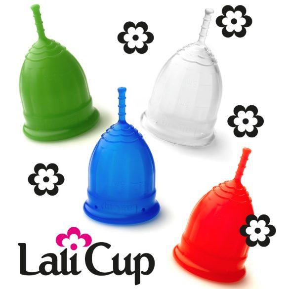 Lalicup - közepes méret (M) - átlátszó