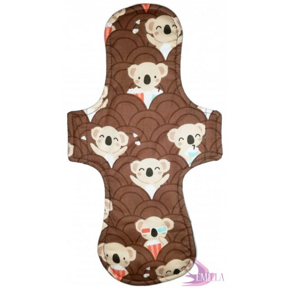 Gaia postpartum (XXL) clothpad - Koala Pop