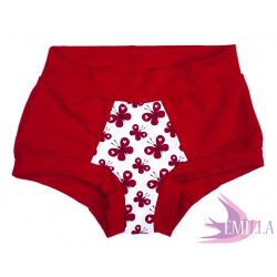 Red Butterfly limited Scrundies xs