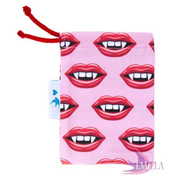 Halloween Vampire intimkehelytartó táska