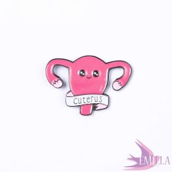 Cuterus enamel pin