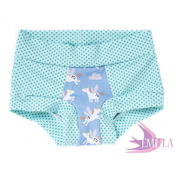 Teal Pegasus limited Scrundies xs
