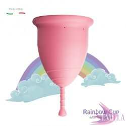 Rainbow Intimkehely nagy méret - Pink (középkemény)