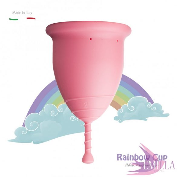 Rainbow Cup large size - Pink (medium firmness)