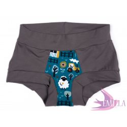 Dark Green Sheep limited Scrundies xxs