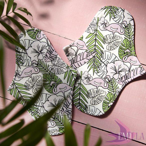 Afrodité (S) Szélesített kisméretű intimbetét, vékony - SunKissed Flamingo