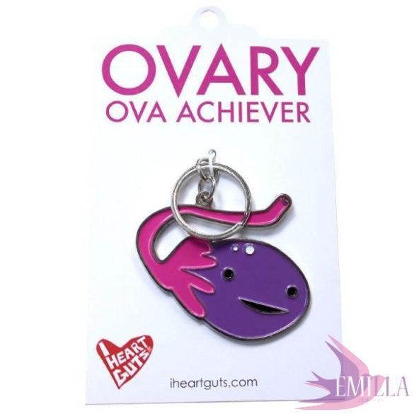 Ovary Keychain - Ova Achiever