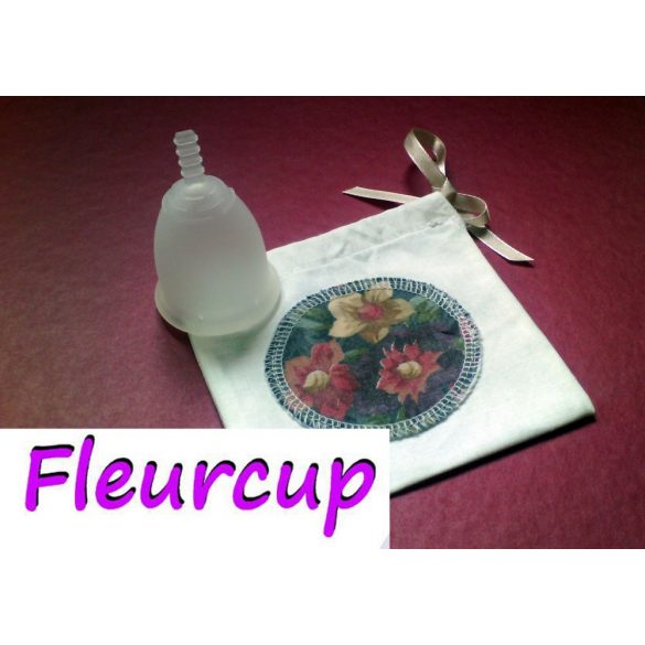 Fleurcup L nagyméret - ajándék Emilla táskával és kehelytartóval