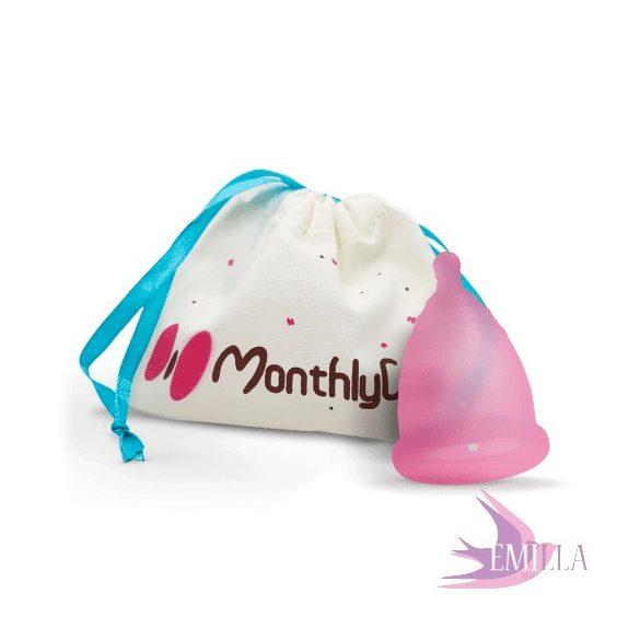 MonthlyCup Pink Topaz - Nagy méret