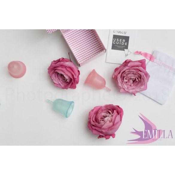 Loulou Cup Pink Nagyméret (sport) - ajándék Emilla tisztaságibetéttel