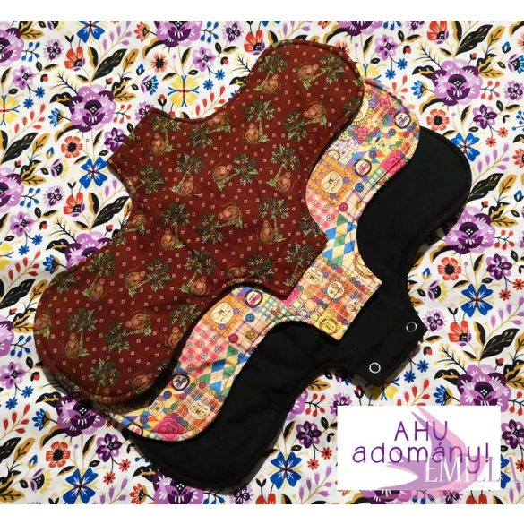 Charity post partum pad (1pcs) Gaia size, surprise print