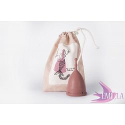 Emilla & Mermaid Cup L Mocha, firm - Nude Collection