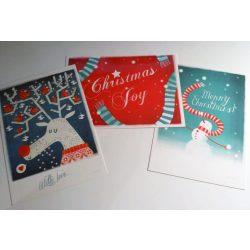 3db-os karácsonyi szett - Adaland üdvözlőkártya