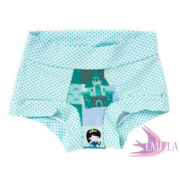Teal-Green Princess limited Scrundies xs