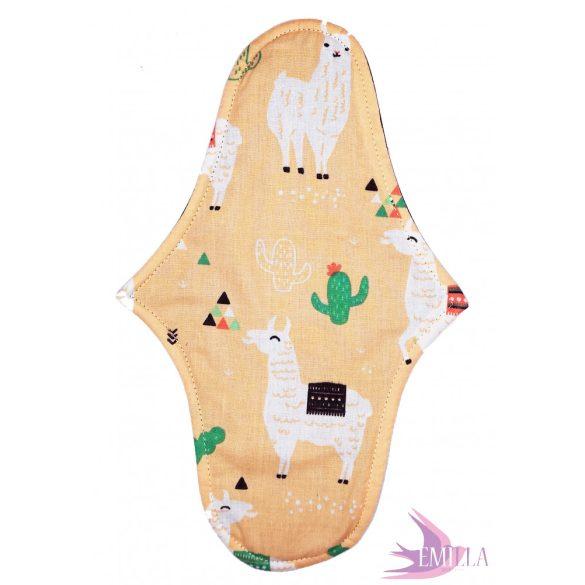 Pénelopé közepes méretű (M) intimbetét Vékony - Peach Llama