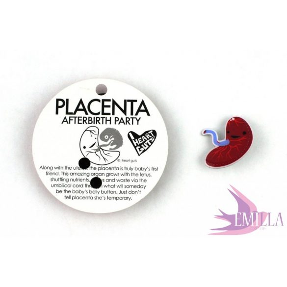 Placenta Lapel Pin - Baby's First Roommate
