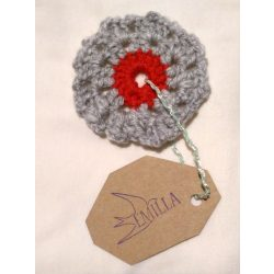 Dandelion Flake - Hand crocheted cup coaster