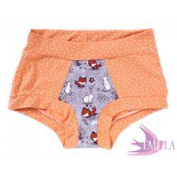Peach-Purple FoxBunny limitált Pillebugyi xxs