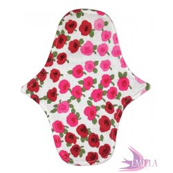 Afrodité Wide small pad (S) for light flow - Rosebuds
