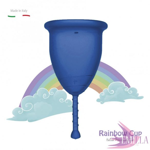Rainbow Intimkehely kisméret - Kék (puha)