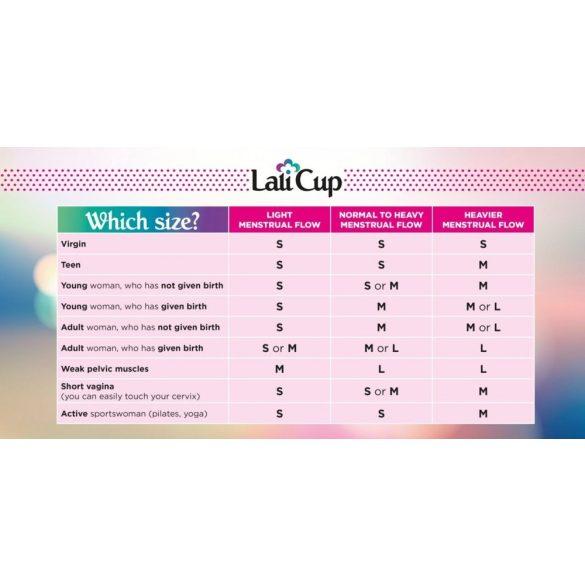 Lalicup - közepes méret (M) - Piros