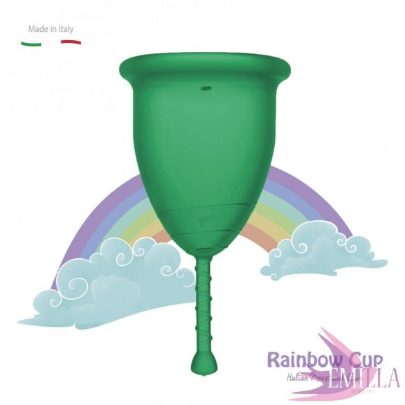 Rainbow Cup small size - Emerald (soft)