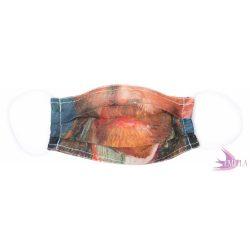 Washable, sterilizable face mask - Van Gogh / organic cotton guaze