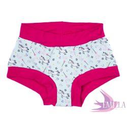 Csillámos Unikornis menstruációs bugyi XL