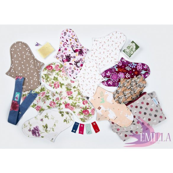 Petrichor - Cloth pad kits for adults in size L-XL