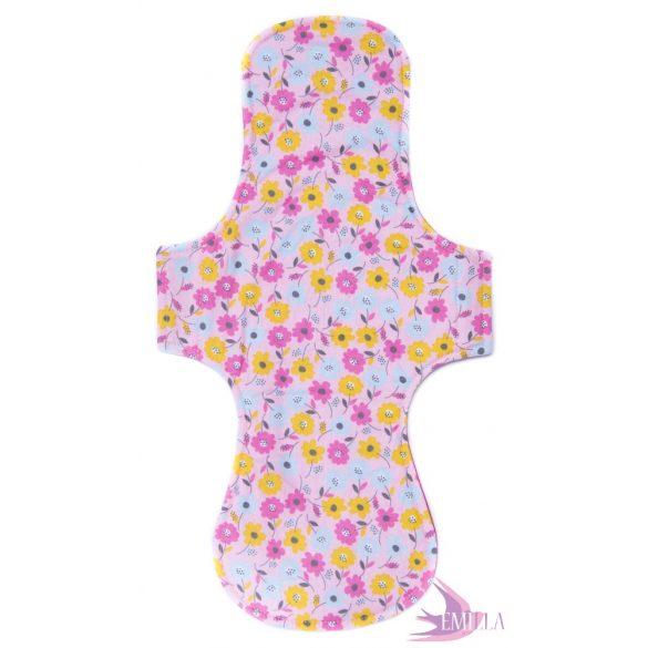 Gaia postpartum (XXL) clothpad - Pretty Flowers