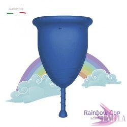 Rainbow Intimkehely nagy méret - Kék (puha)