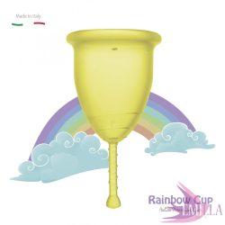 Rainbow Intimkehely kisméret - Sárga (középkemény)
