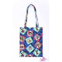 Farm - Cotton tote bag from rescued fabric