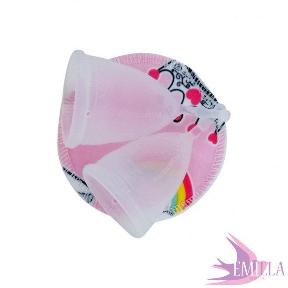 Mermaid Cup L Au Naturale Solid, soft