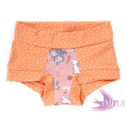 Peach-Pink Bunny limitált Pillebugyi xxs