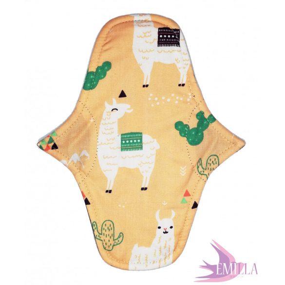 Afrodité Wide small pad (S) moderate - Peach Llama
