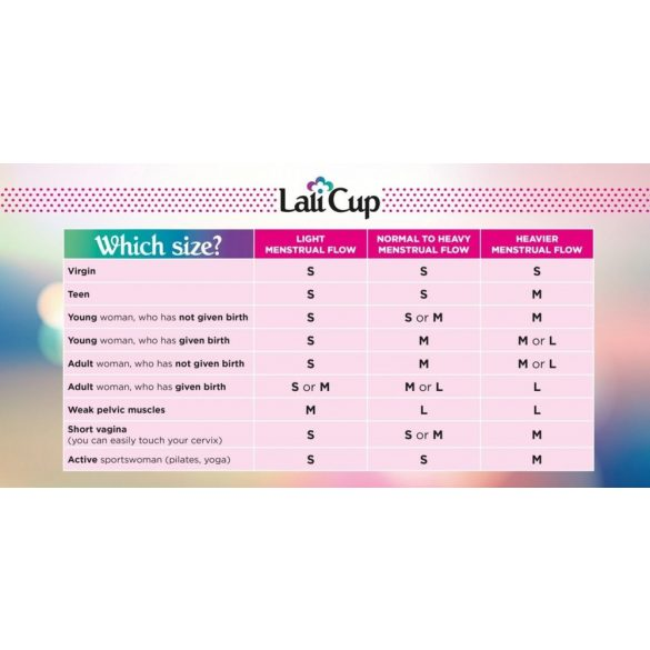 Lalicup - nagy méret (L) - átlátszó
